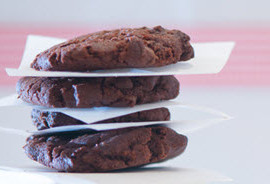 DOUBLE CHOCOLATE COOKIES…TRY STOPPING AT ONE!
